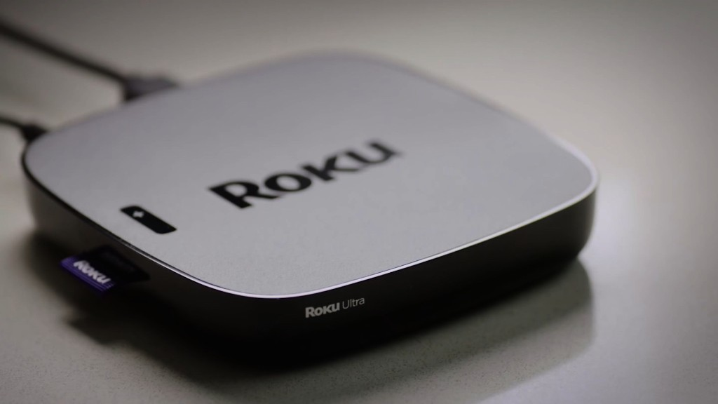 Roku streaming set top box