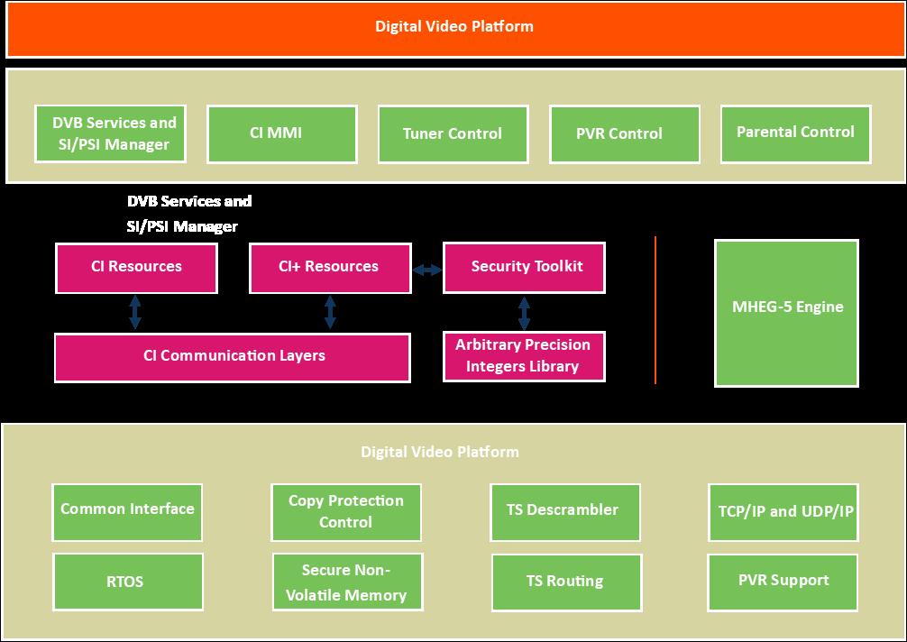 The CI Plus framework