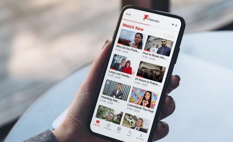 Freeview play app